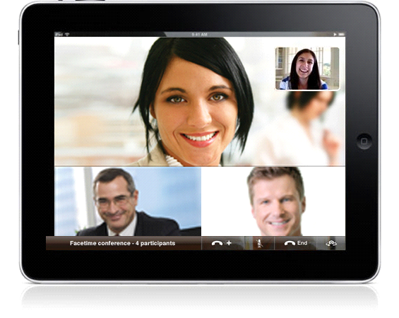 how to use facetime on iPad