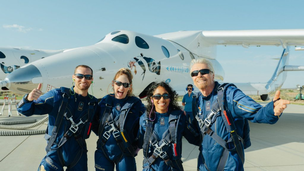 Is Richard Branson's Virgin Galactic the forerunner in space tourism?