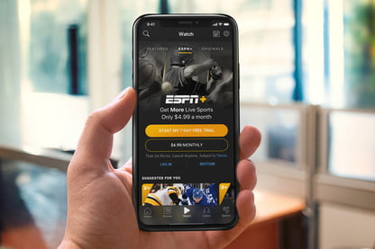 How to get ESPN plus on iPhone and Android
